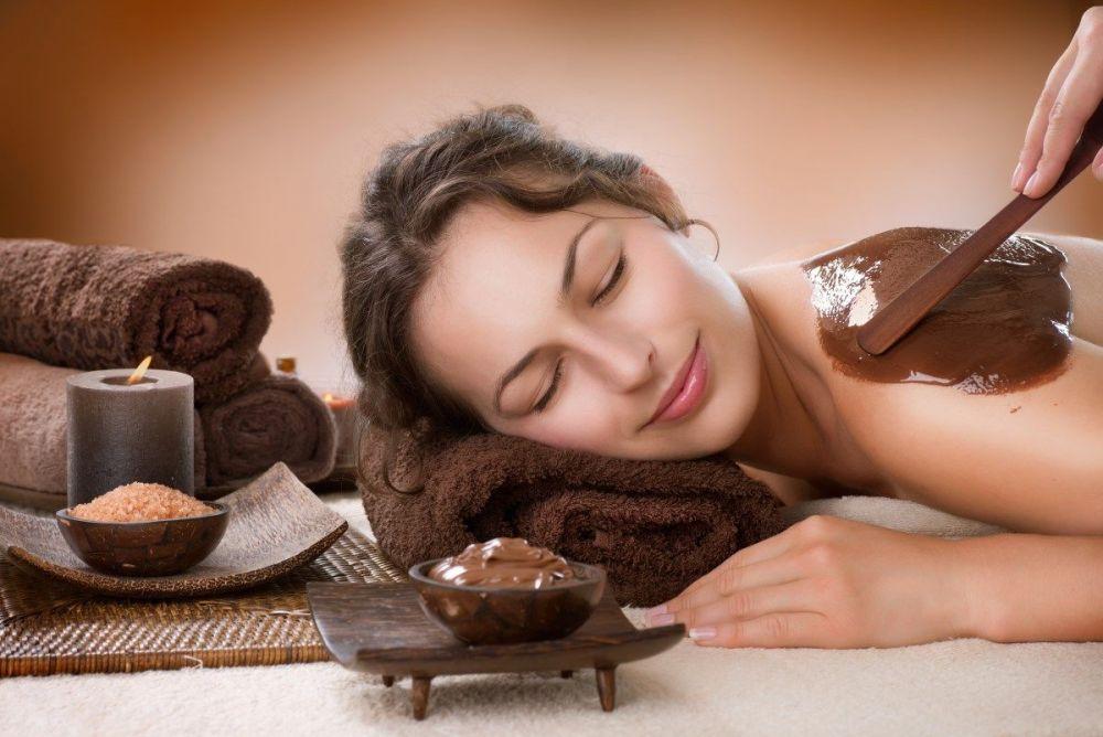 Θεραπεία μασάζ με σοκολάτα