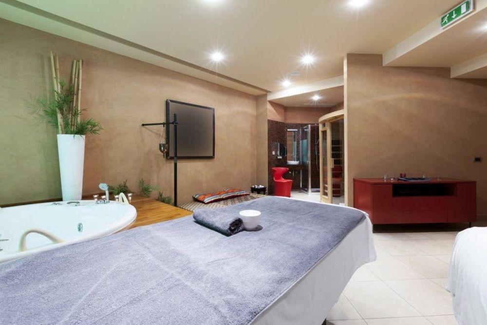 Σουίτα ξενοδοχείου για σπα και υδροθεραπεία